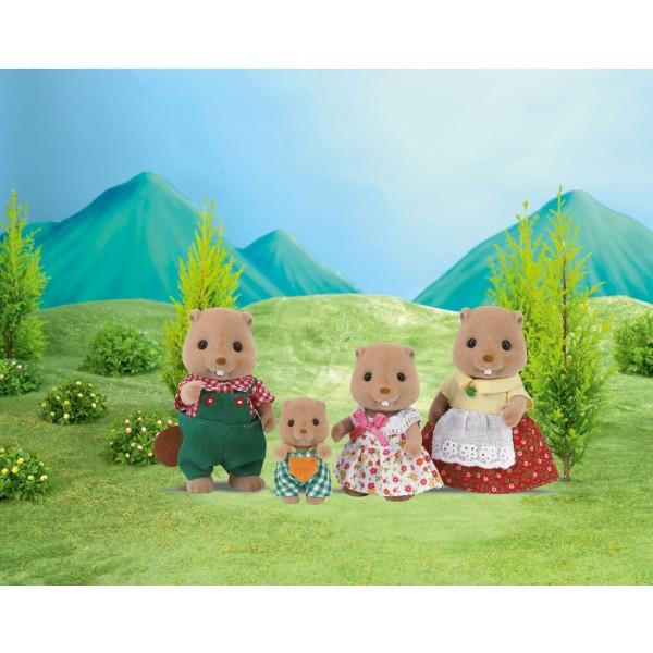 Beaver Family - Sylvanian Families