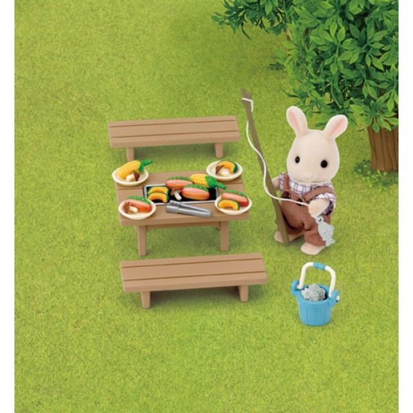 Family Barbecue Set - Sylvanian Families