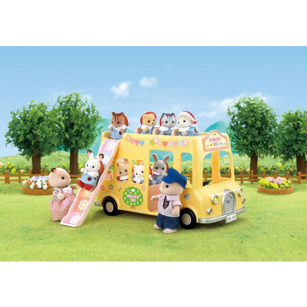 Nursery Double Decker Bus - Sylvanian Families
