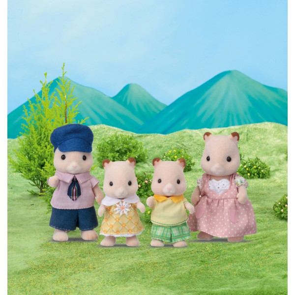 Hamster Family - Sylvanian Families