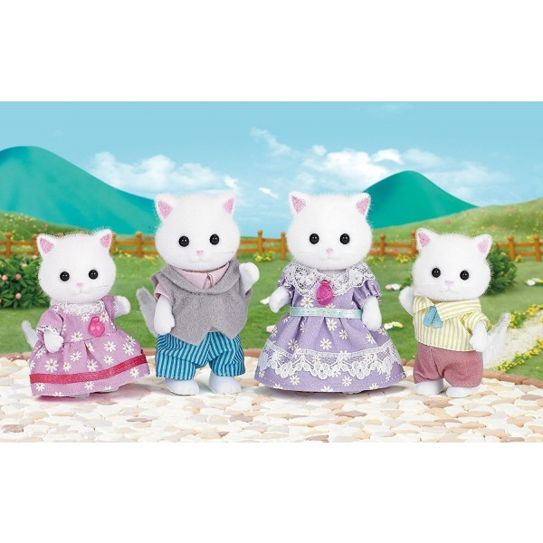 Persian Cat Family - Sylvanian Families