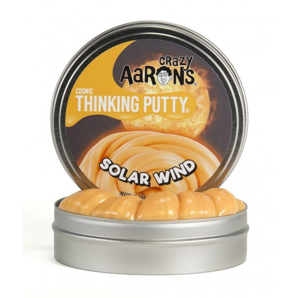 Solar Wind Super Glowing Cosmics 4inch Tin - Thinking Putty