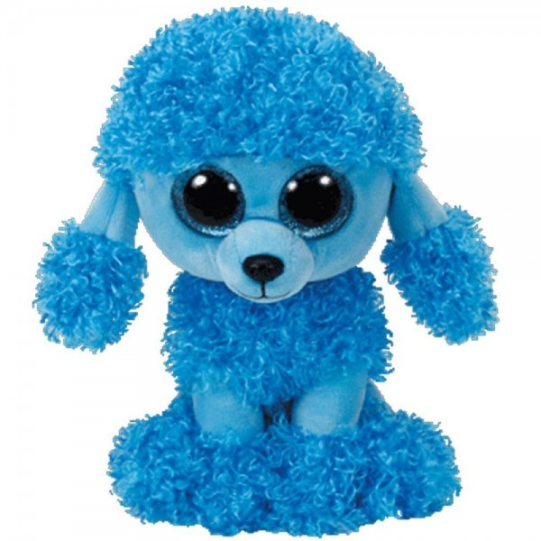 Mandy Blue Poodle - Beanie Boos