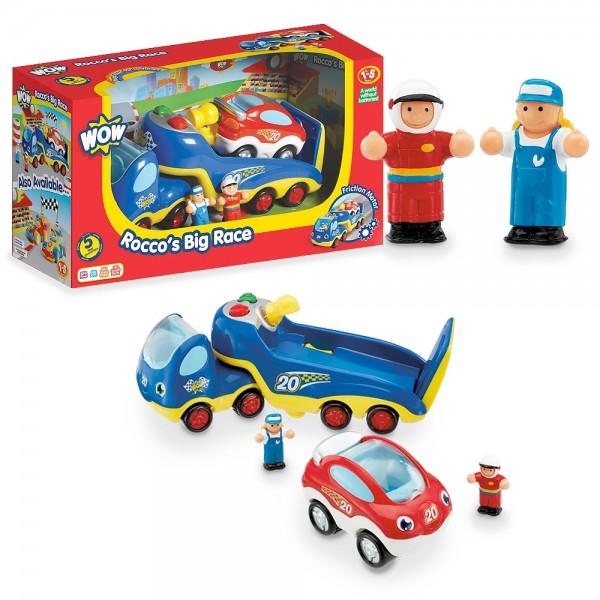 Rocco's Big Racing - WOW Toys