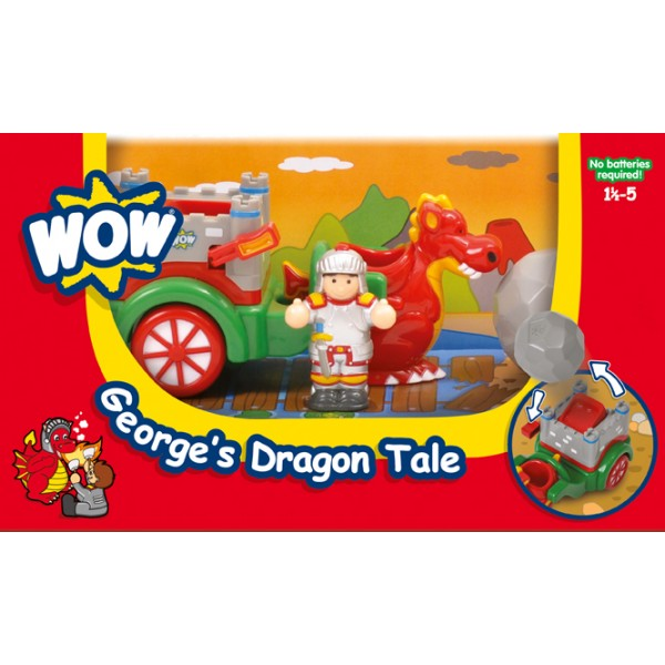 Georges Dragon Tale - Wow Toys