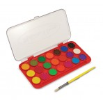 Deluxe Watercolor Paint Set - 21 colours