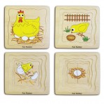 4 Layers Chicken Puzzle