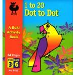 Dot to Dot 1-20 - Buki Activity 510