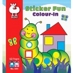 Colour In Sticker Fun - Buki Activity 544