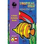 Window Decoration - Tropical Fish - Buki Activity 7701