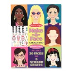 Make A Face Sticker Pad - Melissa & Doug