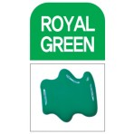 Glass Deco Royal Green 60ml bottle