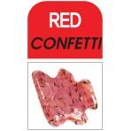 Glass Deco Red Confetti 60ml bottle