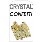 Glass Deco Crystal Confetti 60ml bottle