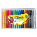 18pk Silky Twisters - Colorix