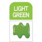 Glass Deco Light Green 60ml bottle
