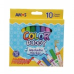 Colour Buddy Markers - 10 pack