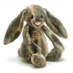 Bashful Cottontail Bunny - Medium