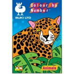 Colour By Numbers - Animals - Buki Activity 1239