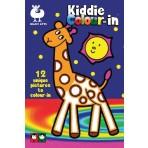 Kiddie Colour In 2 - Buki Activity 1266