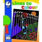 Lines to Colour - Buki Activity 1311