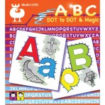ABC Dot to Dot - Magic Pictures- Buki Activity 555