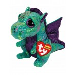 Cinder Green Dragon Medium - Beanie Boos