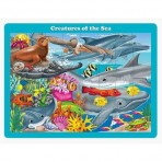Creatures of the Sea - 48 Piece Tray Puzzle
