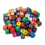 Dice 16mm Single - Assorted