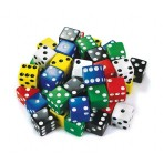Dice 25mm Single - Assorted