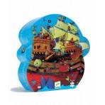 Barbarossa Boat Silhouette Puzzle