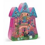 Fairy Castle Silhouette Puzzle