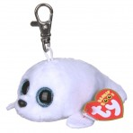 Icy the White Seal - Clip On Beanie Boos