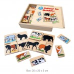 Animal Shadow Puzzle 36pc