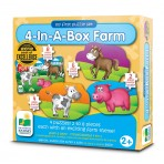 Farm - 4 In A box Puzzles