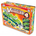 Set 4 - Magnetic Mix & Match Vehicles