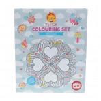 Mandala Colouring Set