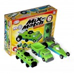 Set 6 - Magnetic Mix & Match Vehicles