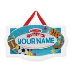 Sports Door Name Plaque