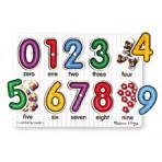 Numbers Peg Puzzle - Melissa & Doug