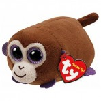 Monkey Boo Brown Monkey - Teeny Tys