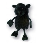 Sheep Black - Finger Puppet