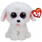 Pippie White Dog - Beanie Boos