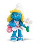 Smurfette With Flower - Schleich