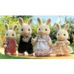 Milk Rabbit Family - Sylvanian Families