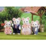 White Mouse Family - Sylvanian Families