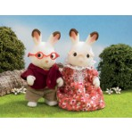 Grandparents Chocolate Rabbit - Sylvanian Families