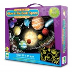 Glow In The Dark - Space - Puzzle Doubles