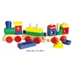 Stacking Train with Blocks