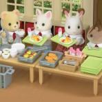 School Lunch Set - Sylvanian Families